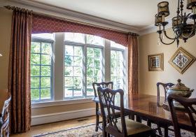 欧式奢华飘窗装修设计