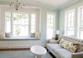 白色清新飘窗装修设计
