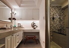 奢华欧式浴室柜设计