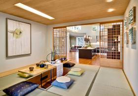 日式原木榻榻米设计美图