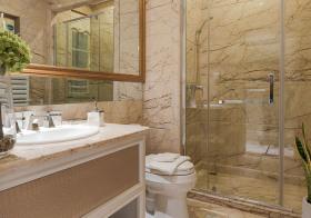 大理石现代卫生间设计效果