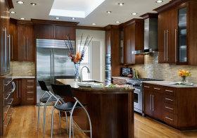 典雅美式厨房设计参考