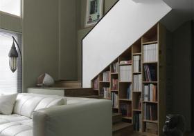现代楼梯收纳美图