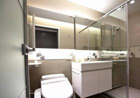 现代浴室柜装修设计
