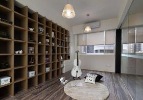 舒适美式书房设计