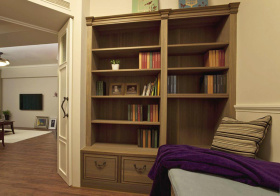 简约转角小书房设计