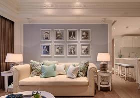 温馨美式照片墙设计