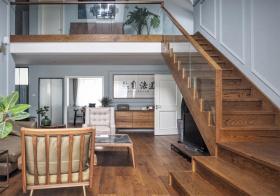 温馨中式风格楼梯装修设计