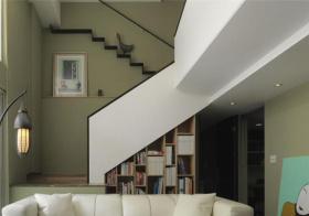 清新新中式风格楼梯装修设计