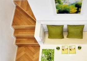 清爽简约风格楼梯装修设计