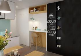 创意北欧风格吧台装修设计