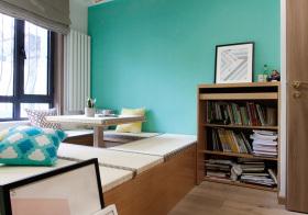 清新书房榻榻米设计