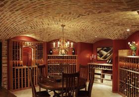 欧式复古酒柜美图欣赏