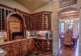 欧式唯美酒柜设计