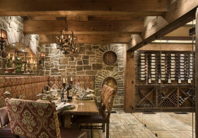 美式复古酒柜设计欣赏