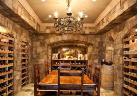 美式地窖式酒柜设计美图