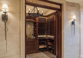 美式现代风酒柜欣赏