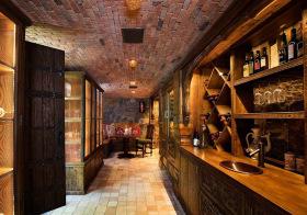 欧式复古酒柜美图