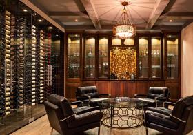 现代高端酒柜设计