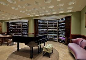 现代弧形酒柜设计美图