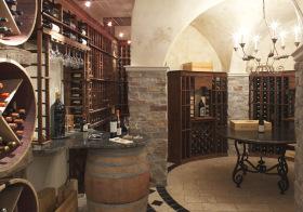 欧式复古酒柜鉴赏