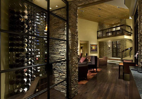 现代自然风酒柜美图欣赏