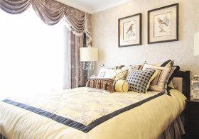 雅致美式卧室装修效果