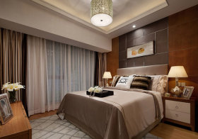 现代卧室装修美图欣赏