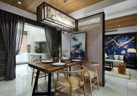 曲木新中式餐厅设计欣赏