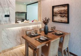 大理石现代餐厅设计效果