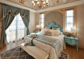 浪漫简欧卧室设计效果
