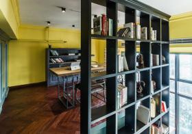 现代书房隔断欣赏