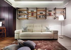 简欧客厅收纳设计