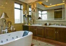 美式浴室柜美图