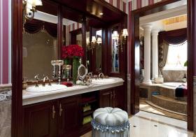 精致新古典浴室柜设计