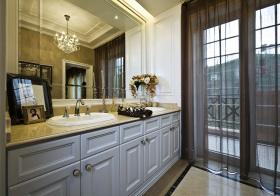 美式浴室柜装修