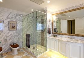 欧式浴室柜装修