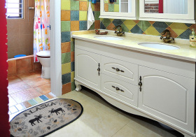优雅美式浴室柜设计