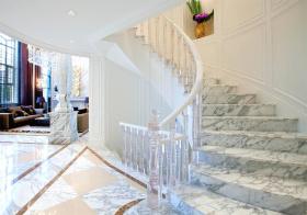 大气欧式风格楼梯装修效果图