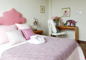 可爱简约卧室装修美图