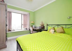 绿色田园儿童房设计