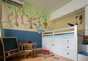 自然简欧儿童房欣赏