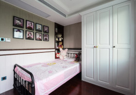 可爱简约儿童房设计