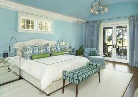 清新简约卧室装修设计