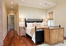 原木美式卧室美图欣赏