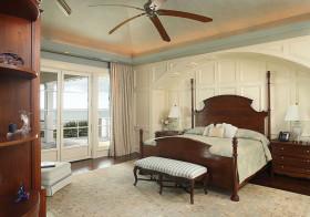 复古美式卧室装修美图
