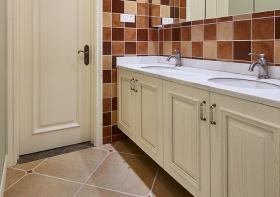 美式浴室柜欣赏