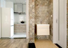 现代风浴室柜设计