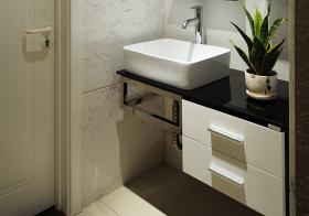 简约风浴室柜设计