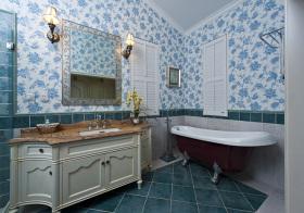 地中海风浴室柜设计